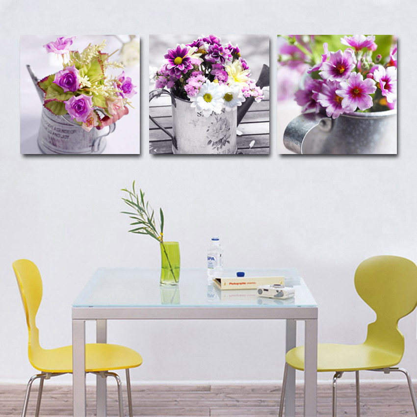 Hot sale 3 piece fruit kitchen pictures abstract beautiful for Kitchen decoration piece
