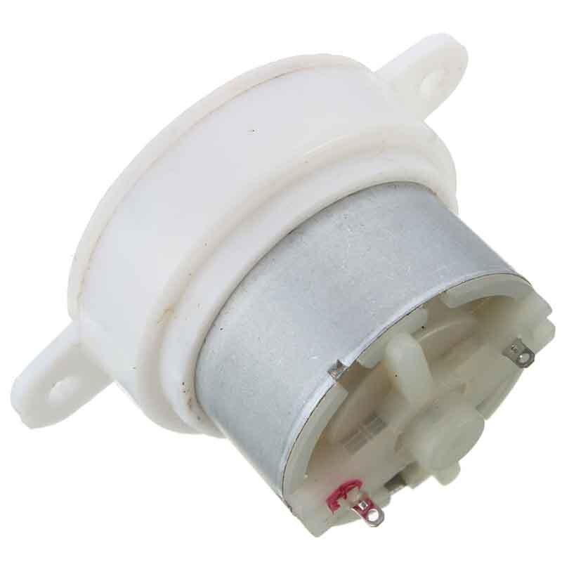 DC 12 v Getriebe Motor High Torque Zylinder Elektrische Micro Motor Getriebe Verlangsamen Stumm 3 rpm