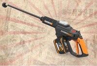 WG630 sem fio doméstica de alta pressão máquina de lavar carro máquina de limpeza de lavagem de carro elétrico de lítio de carregamento portátil artefato