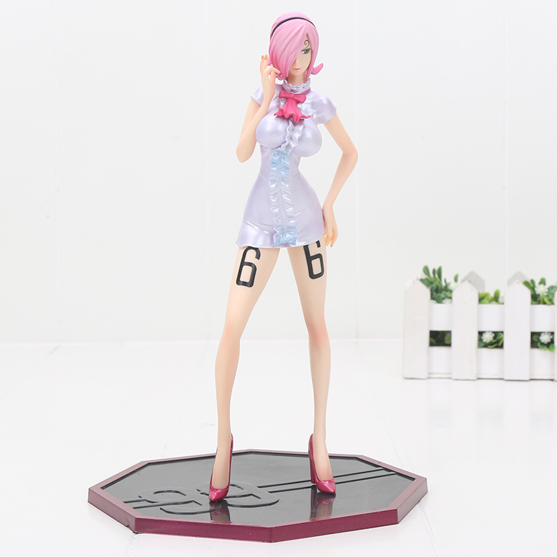 Nice Action Figure 23cm <font><b>One</b></font> <font><b>Piece</b></font> Vinsmoke <font><b>Reiju</b></font> Sanji's Sister Pvc Model Toy image