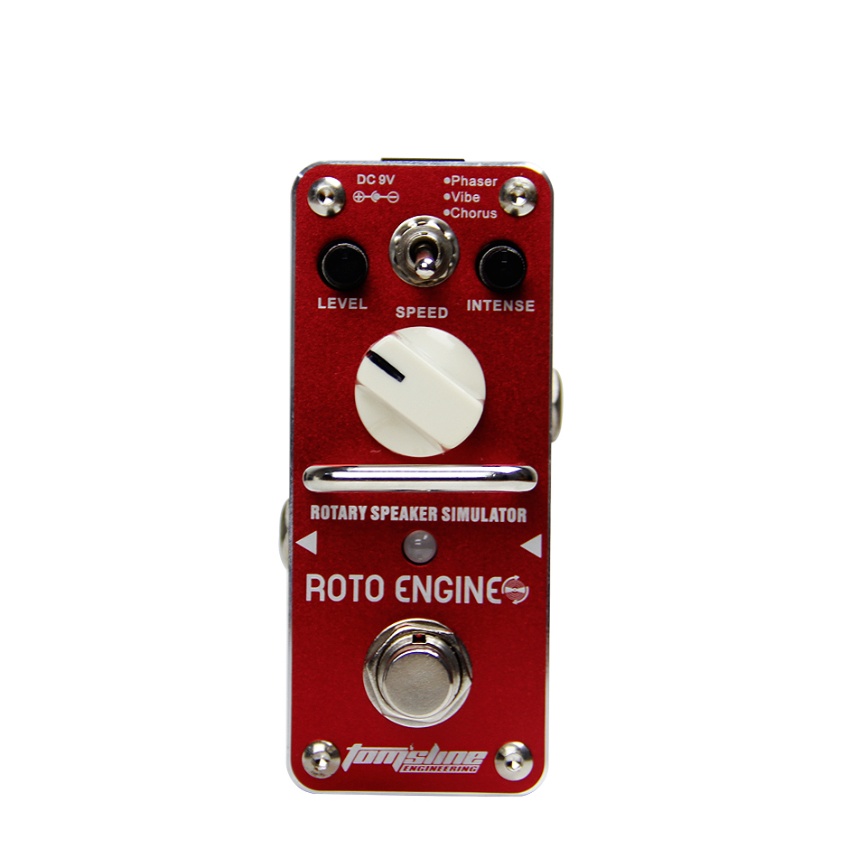 Aroma ARE 3 ROTO ENGINE Rotary Speaker Simulator Guitar Effect Pedal Retro Psychedelic Guitar Pedal True