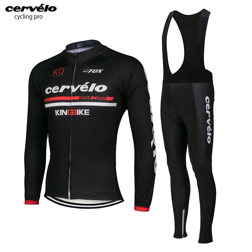 2018 Men Pro Cycling Jersey Long Sleeve MTB Bike Jersey Wear Autumn Cycling Clothing Spring Maillot Ciclismo Bicycle Clothes