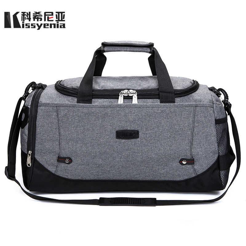 24703da2c4f9 Vintage Canvas Briefcase Men Handbags Travel Flight Messenger Bags ...