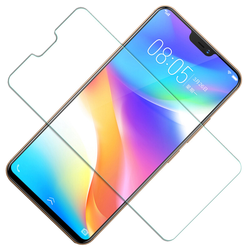 9H 2.5D Tempered Glass For Vivo X21 X23 Y71 Y71i Y81 Y85 Y95 V7 Plus  Protective Film Screen Protector
