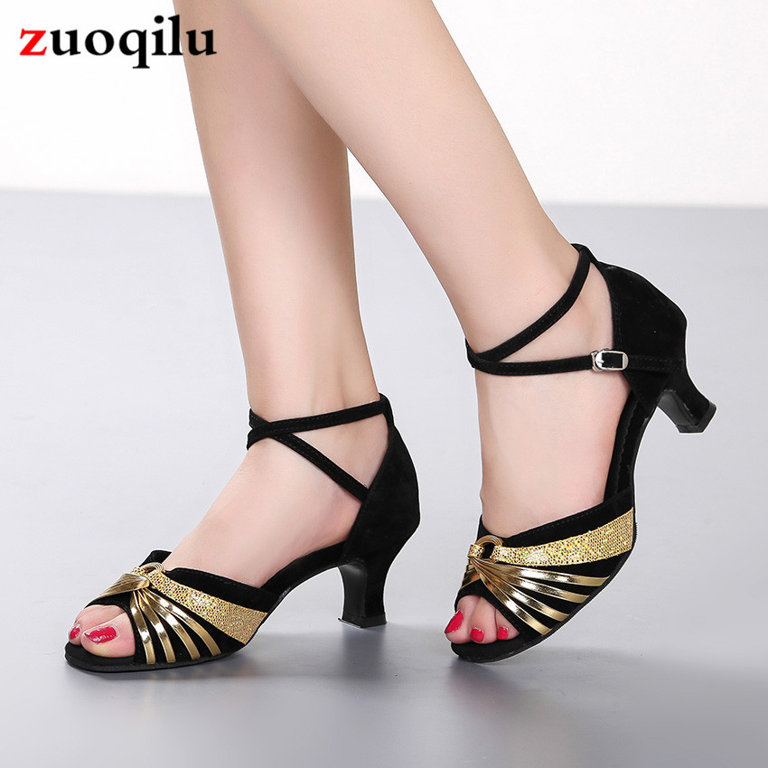 2019 High Heels Female Shoes Pointed Single Shoes Cross With Buckle High Heel Women Shoes Sandals Tide Ladies Shoes Large Size