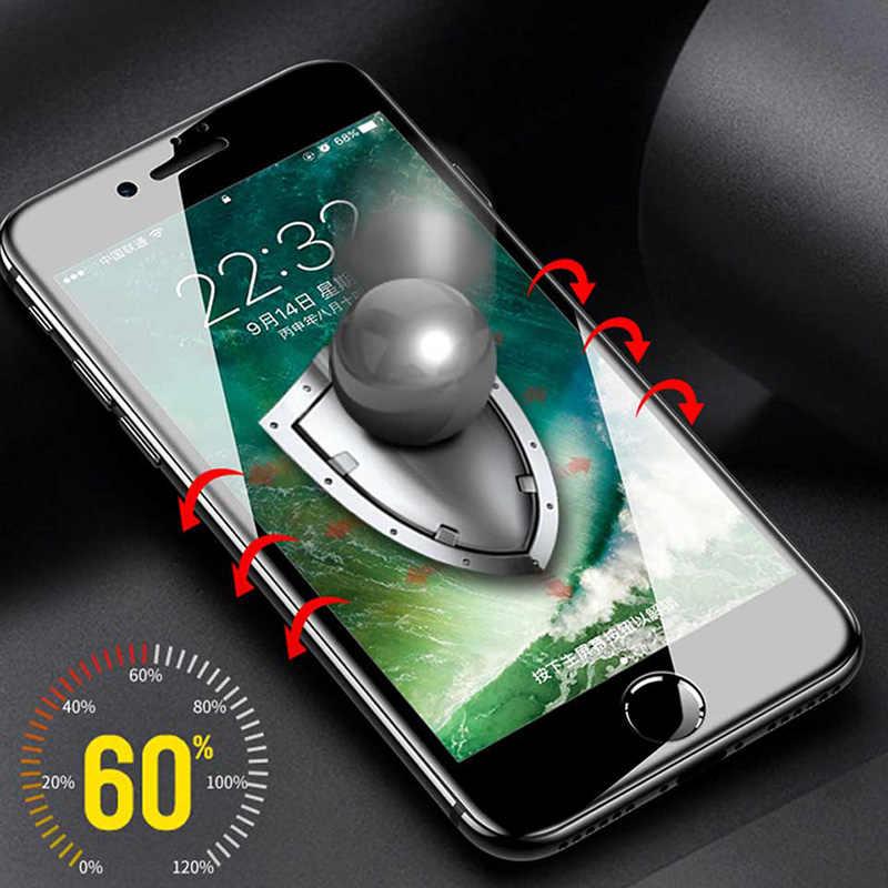 Wangcangli جديد 9d الزجاج المقسى آيفون 6 7 6 6s 8 plus XS max XR زجاج آيفون 7 8 x واقي للشاشة الزجاج على آيفون 7 6S 8