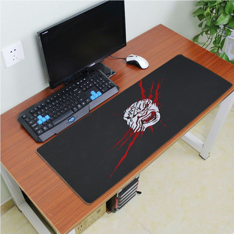 Yinuoda Top Quality Dead By Daylight Icon Anti-Slip Durable Silicone Computermats Size 18x22cm 20x25cm 25x29cm 30x60cm 40x90cm