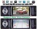 12 V Rádio autoradio Car MP5 Player de áudio Do Carro 4.0 HD Bluetooth estéreo do carro/retrovisor/MP3/MP4/Audio/FM Receptor de rádio auto 1 din