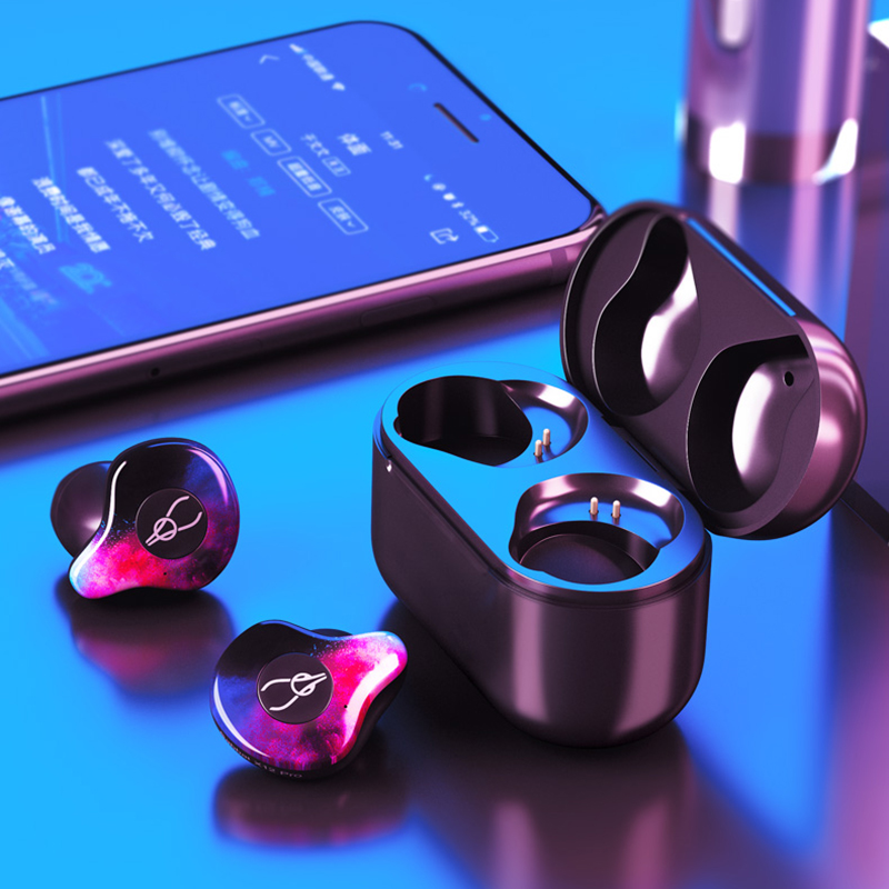 VirWir True Wireless Earphone Cordless Earbuds TWS Stereo headsets Bluetooth 5.0 Auriculares Earphone with Charging box цена 2017