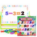 Magnet Digital Posted Magnetic Refrigerator Stick Educational Toys Gift For Kids
