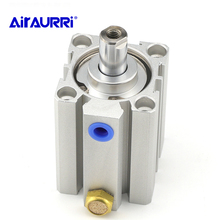 Compact cylinder single acting-push STA series bore 16 20 25 32 40 50 63 80 stroke 5mm 10mm 15mm 20mm 30mm 40mm 50mm