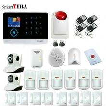 SmartYIBA Wireless Wifi 3G Sim Auto Dial Home Security Burglar Intruder Alarm System Siren Video IP