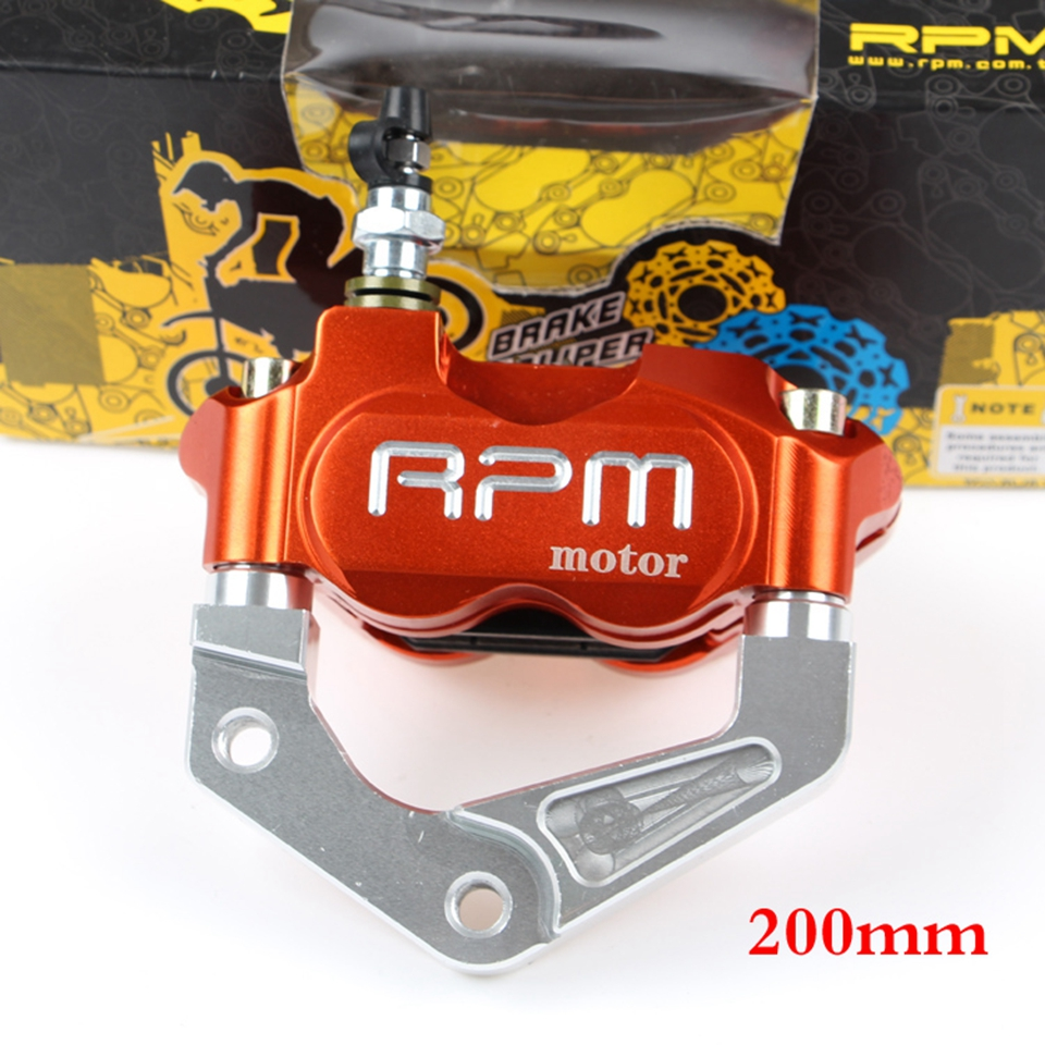 TOURS CNC Moto Étrier De Frein 200mm 220mm Scooter frein Adaptateur Support Ensembles Pour Honda-Joker Yamaha-ZY100T/ LYM100T/RSZ/BWS
