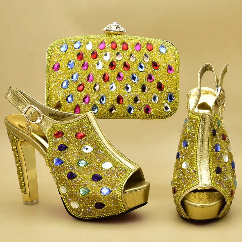 Fiesta Juego Africana oro sky Decorado A En purple Establece Diamantes Mujeres pink De Nueva Bolso Blue Zapatos Ventas Imitación Las Con 2019 Bolsa Azul Llegada Y q1qHxwazv