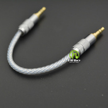 JACK cable hifi cable Stereo Audio 3.5mm to 3.5mm Male 3 Line In Car Aux Cable Headphone Amplifier
