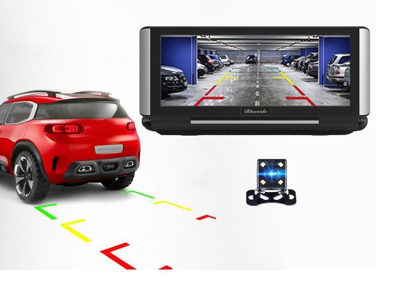 QUIDUX-6-86-Inch-Car-DVR-GPS-Navigation-4G-Android-5-1-ADAS-Full-HD-1080P