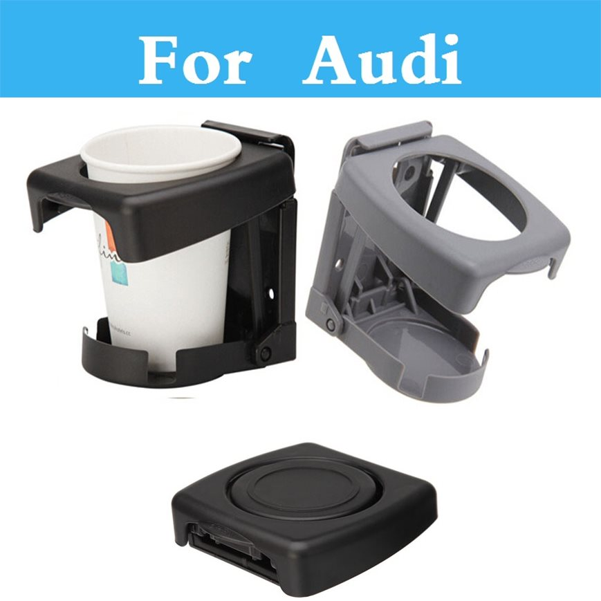 Car Air Vent Outlet Mount Cups Bottle Drinks Stand Holder Bracket Interior Accessories For Audi Q3 Q5 Q7 A3 A4 A5 A6 A7 A8