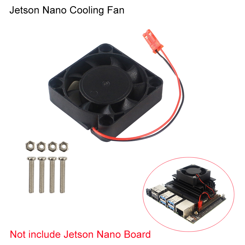 Cooling Fan For NVIDIA Jetson Nano Developer Kit Quiet CPU Cooler Radiator