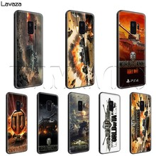 Lavaza World of Tanks чехол для samsung Galaxy S6 S7 край J6 S8 S9 S10 плюс A3 A5 A6 A7 A8 A9 Note 8, 9(China)