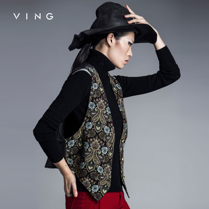 Ving Women Fashion Sleeveless Vest Jacket Outerwear ...