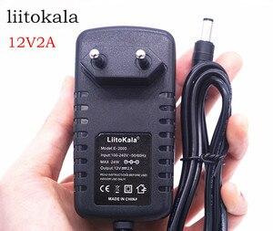 Image 2 - LiitoKala 12 V 2 một đồng hồ đo Adapter, sạc đa phù hợp cho lii 500