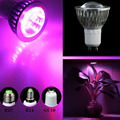 New Arrival 6W SMD E14 / E27 / GU10 LED Horticulture Grow Light for Garden Flowering Plant and Hydroponics System Free Shipping