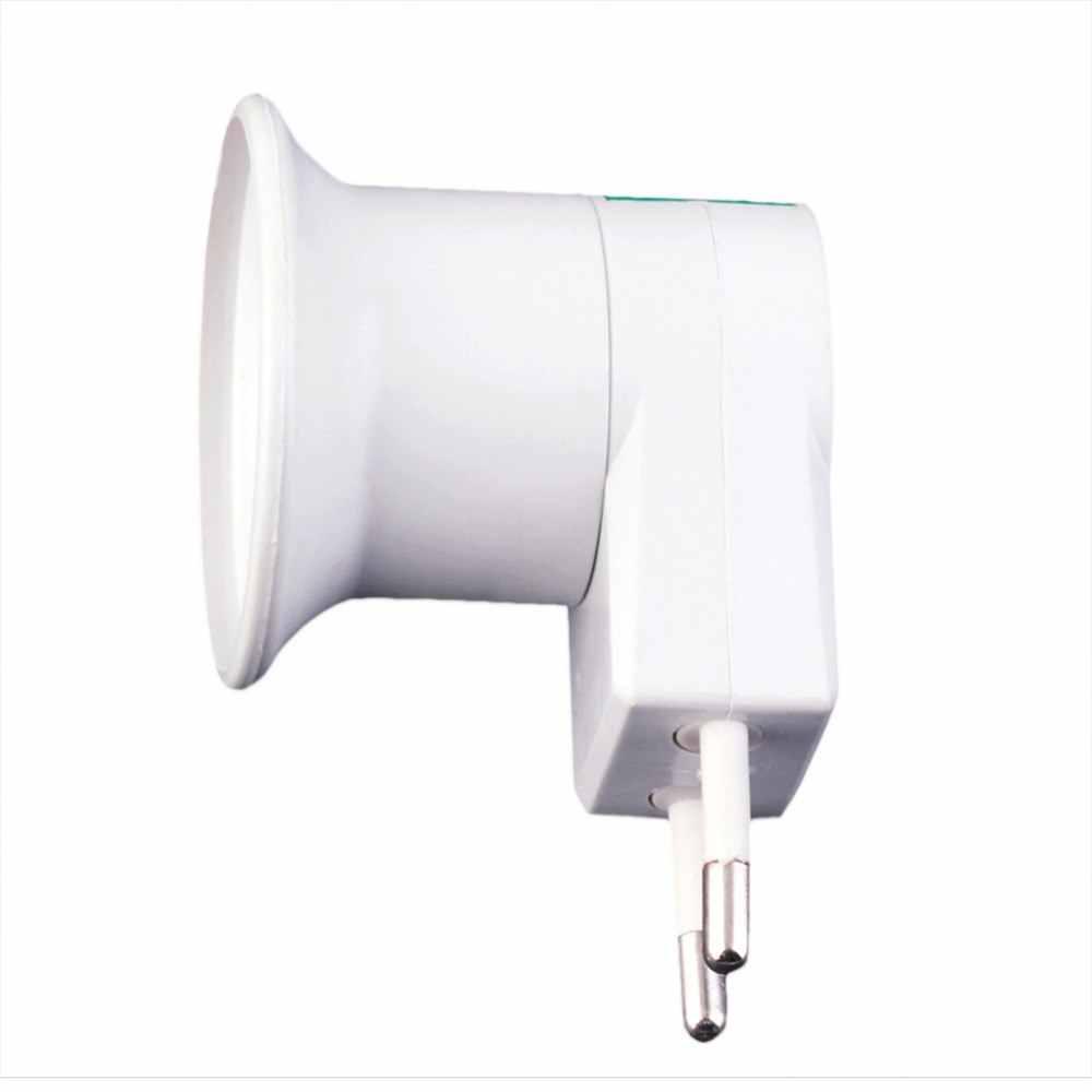 ICOCO E27 профессиональная супер лампочка настенная розетка E27 Цоколь лампы США/ЕС вилка лампа розетка с выключателем питания