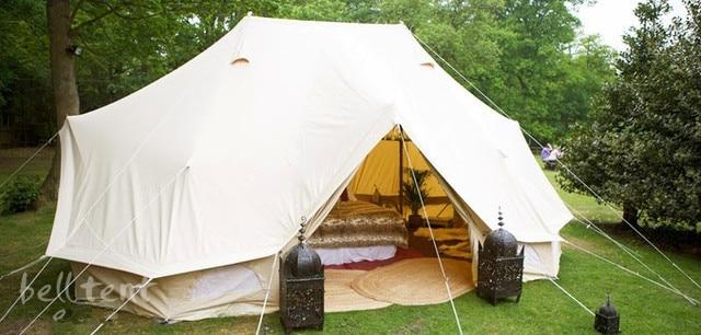 FREE SHIPPING Brand 4*6 meter large c&ing tent outdoor c&ing tent bell tent & FREE SHIPPING Brand 4*6 meter large camping tent outdoor camping ...