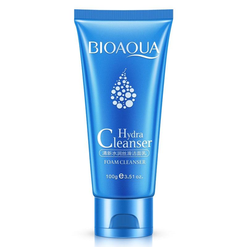 BIOAQUA Hydra Facial Cleanser Cleansing Rich Foaming Face Cleanser Moisturizing Face Skin Care