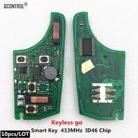 Q управление автомобилем дистанционный ключ электронная схемная плата для Chevrolet 433 MHz ID46 чип без ключа go комфорт доступ