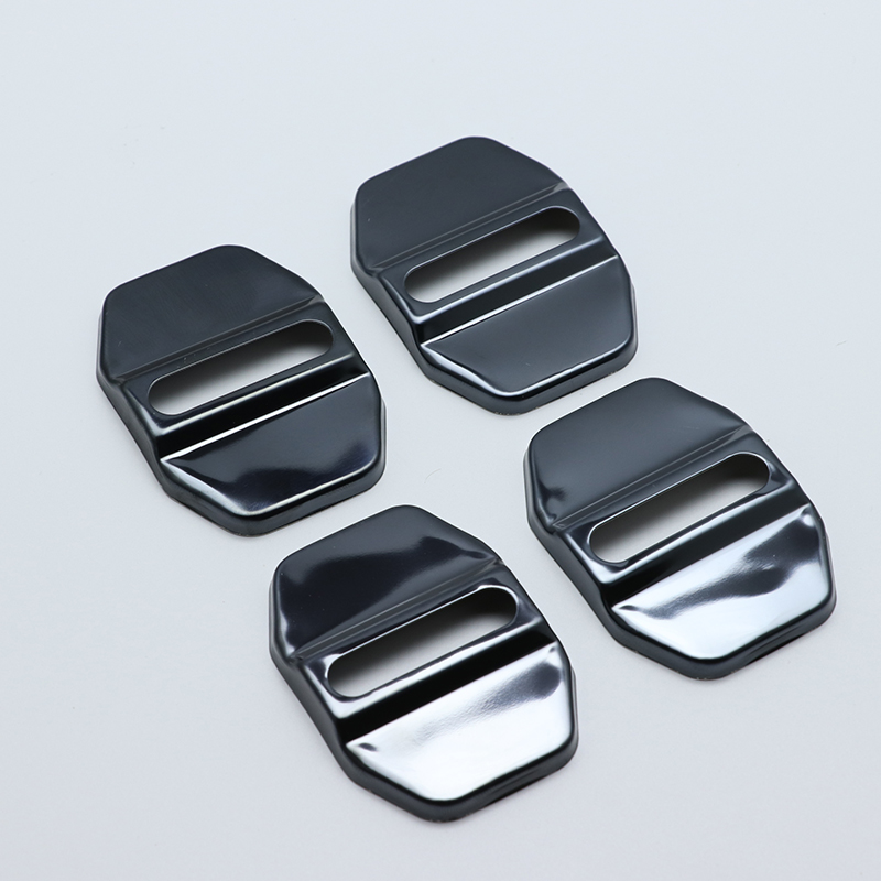4pcs Anti Rust Car Door Lock Protective Buckle Cover For Mercedes-Benz Benz GLE W166 C292 GLS Car Styling Accessories