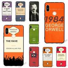 Colorful 1984 George Orwell book Novel Phone Cover for Xiaomi Redmi 6 Pro Case 4A 4X 5 Plus 5A Prime 6A Note Covers Back