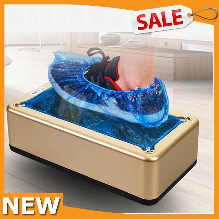 Scarpa automatica usa e getta copre Copriscarpe Dispenser Macchina per la casa Office Lab