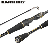 KastKing Stealth Tragbare Carbon Köder Casting Rod FUJI Guide Ring Spinning Casting Angelrute 1,93 m, 1,98 m, 2,03 m, 2,13 m, 2,18 m
