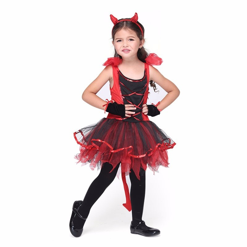 New Girls Cosplay Costume for Halloween 3-piece Clothing Set for Dressing Party