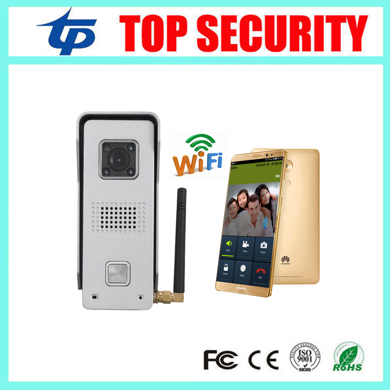 Mobile WIFI video door phone video intercom system wireless door control wireless remote control video door phone стоимость