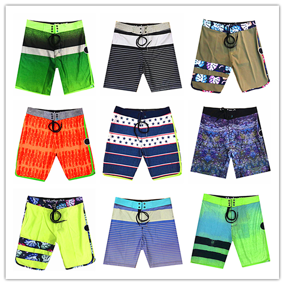 Free Shipping 2019 Brand Phantom Men Beach   Board     Shorts   Swimwear Bermuda Adults Maillot De Bain Mens Spandex Swimsuit Quick Dry