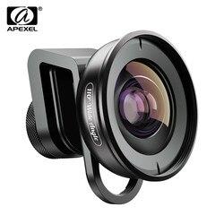 APEXEL объектив камеры телефона HD 110 градусов широкоугольный двойной одиночный объектив камеры для iPhone, пикселей, samsung Galaxy всех смартфонов