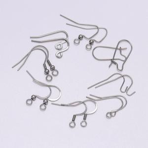 50pcs/lot Stainless Steel DIY Earring Wires Earrings Hooks For Jewelry Making Findings Accessories Hook DIY Earwire Jewelry