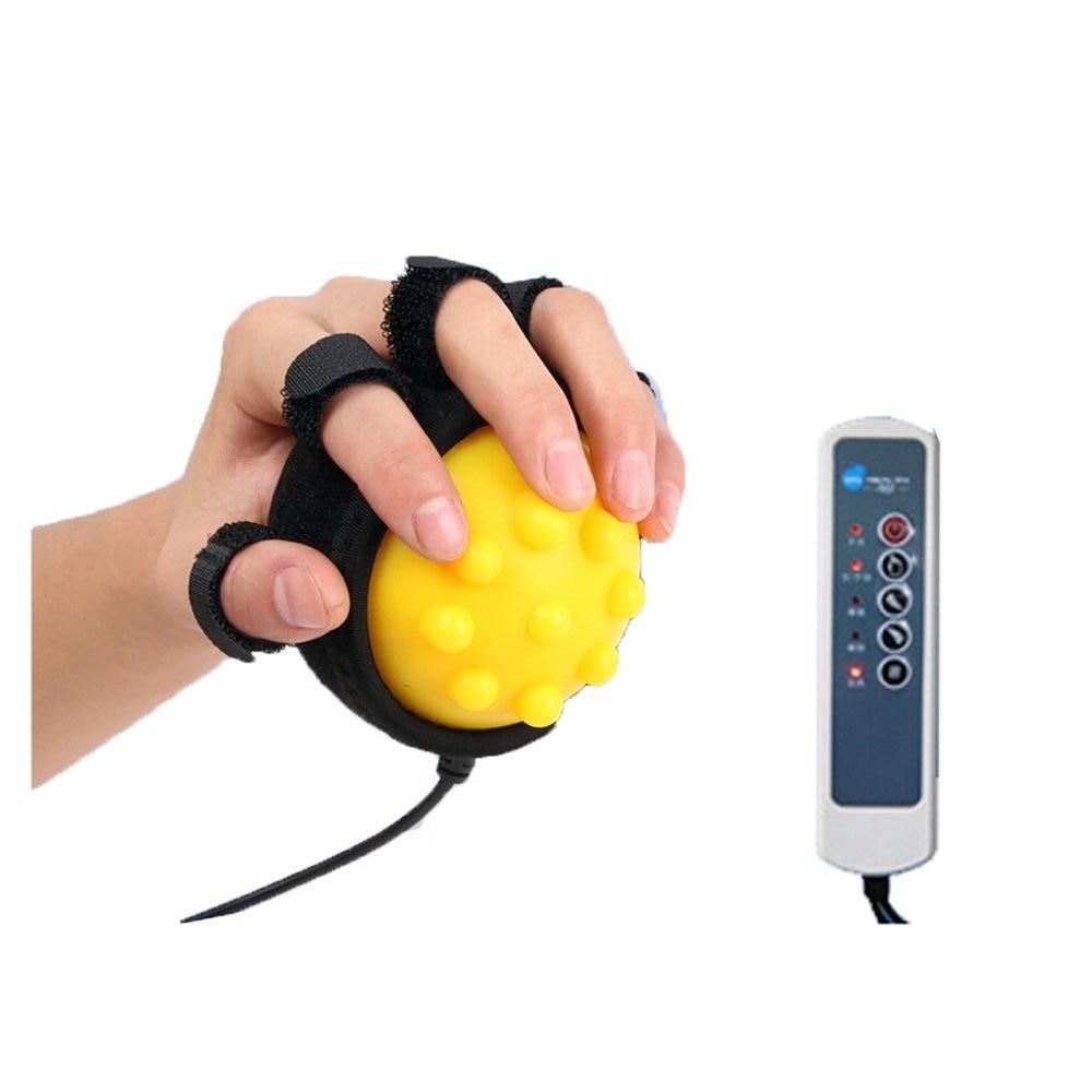 Электрический массаж ручной мяч горячий компресс ход гемиплегия палец реабилитации обучение машина палец восстановления оборудования