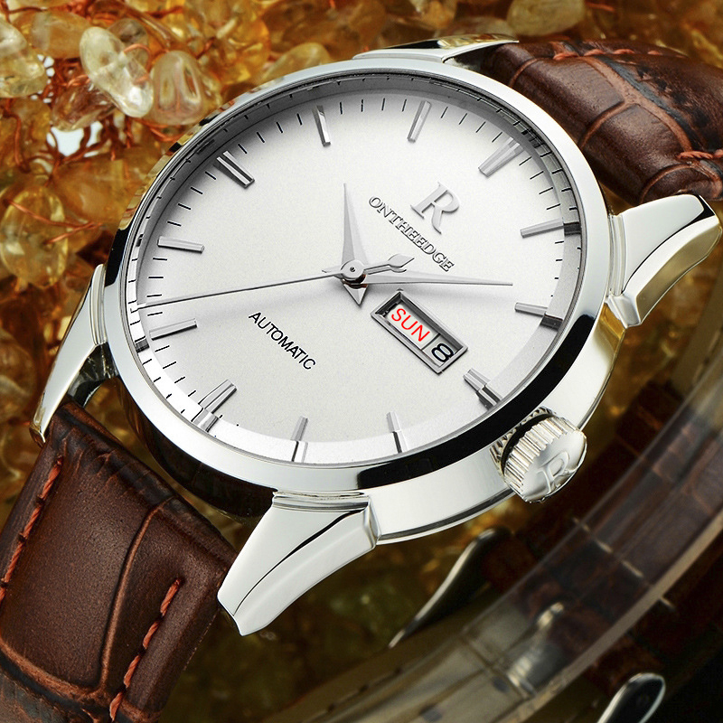 Hot Classic!! Top Luxury Mens Watches Since 1853 Men Business Wristwatch Casual Watch Men Leather Strap Men Quartz Clock Gift