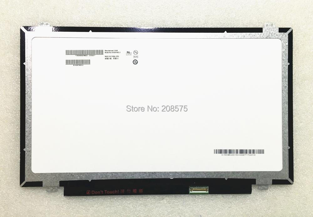 Free Shipping B140XTN03.2 N140BGE-E43 N140BGE-EA3 LP140WHU-TPA1 LP140WHU-TPC2 HB140WX1-401 Laptop LED Screen 1366*768 EDP 30PINS new original laptop lcd led 14 0 slim screen glossy b140xtn03 2 n140bge ea2 eb3 e43 hb140wx1 301 501 601 lp140wh2 tp ltn140at3