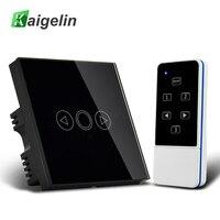 Kaigelin Smart LED Dimmer Switch Panel EU UK Standard With Remote Controller 110 240V Touch Sensor