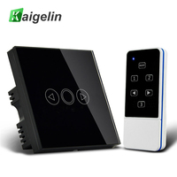 Kaigelin Smart LED Dimmer Switch Panel EU UK Standard With Remote Controller 110 240V Touch Sensor