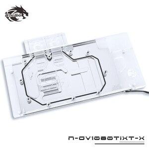 Image 2 - BYKSKI บล็อกน้ำใช้สำหรับ GIGABYTE AORUS GTX 1080Ti Xtreme Edition/GV N108TAORUS 11GD/เต็มรูปแบบกราฟิกการ์ดหม้อน้ำทองแดง