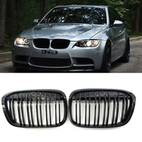 Gloss Black M Style Front Bumper Bar Kidney Grille for BMW F48 F49 X1 16 17 GZ.A F48/49LSM/YSM/LS