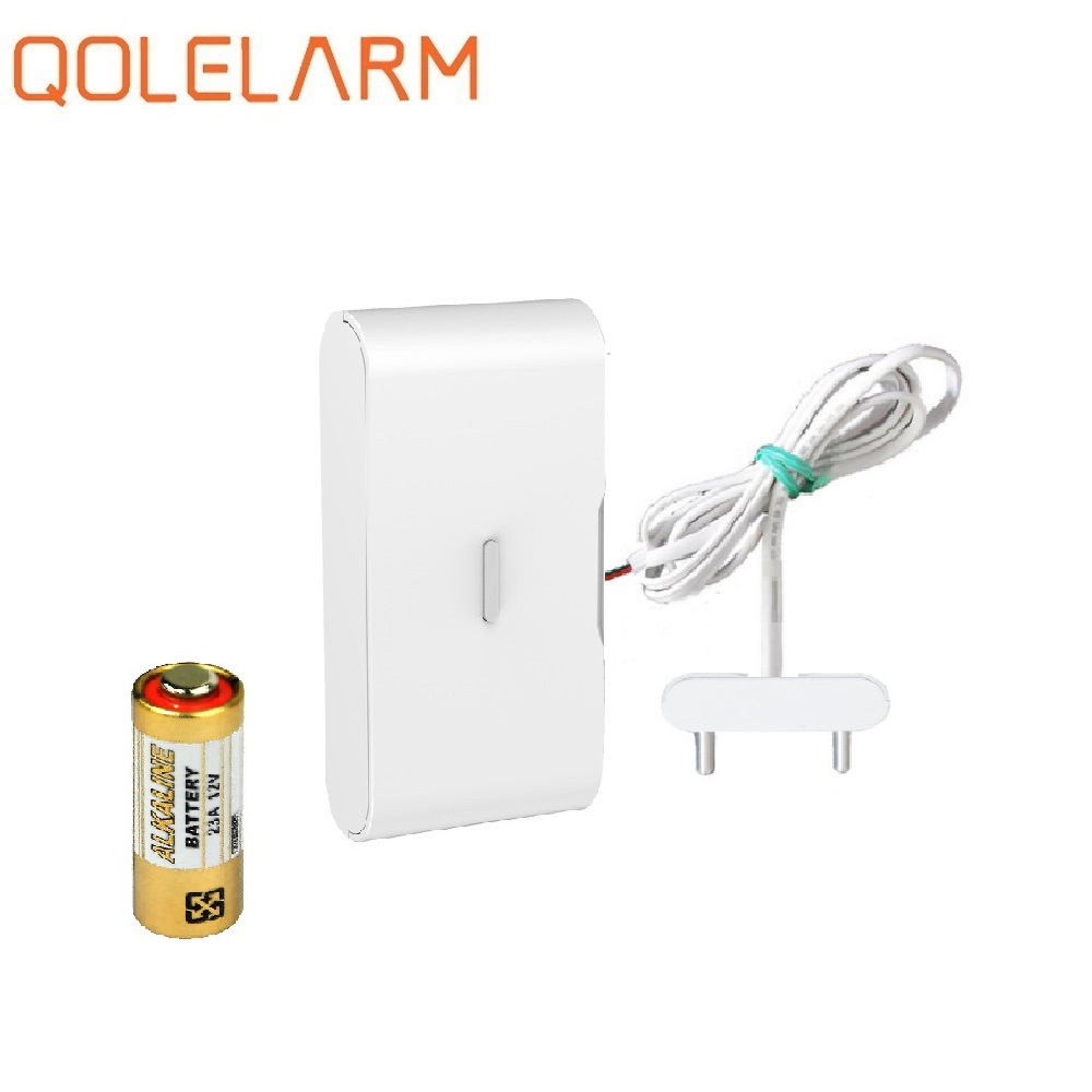 433mhz Water Leak Sensor Home Water Alarm Detector Water Leakage Sensor Wireless Compatible For Most Home Alarm Kits