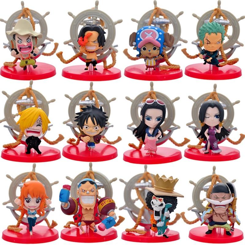 Anime One Piece The New World Luffy Nami Robin Chopper