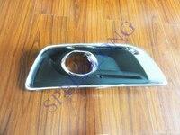 1 PC RH Front Fog Light Cover With Chromed Frame For Chevrolet Malibu 2013 2015
