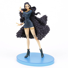 One Piece Ichiban Kuji Nico Robin 20th Anniversary Blue Clothes Figure